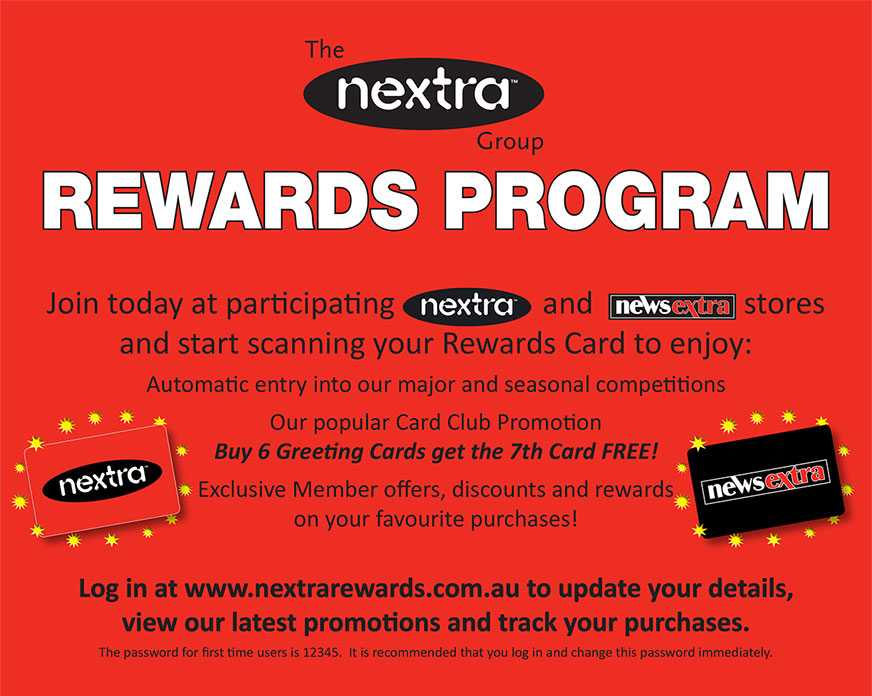 nextra-rewards-program